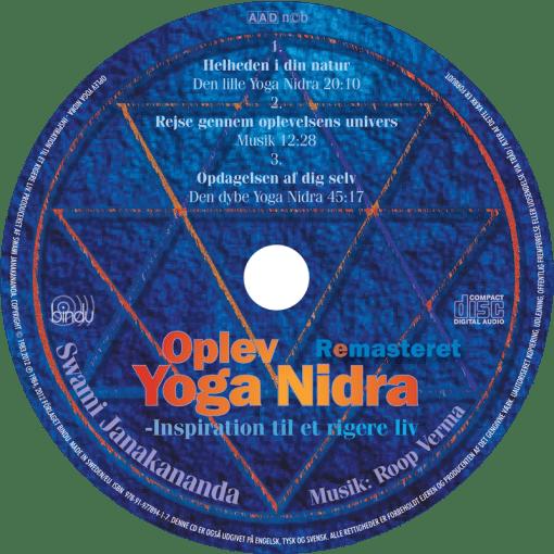 Oplev Yoga Nidra CD plate - med Swami Janakananda - Dansk