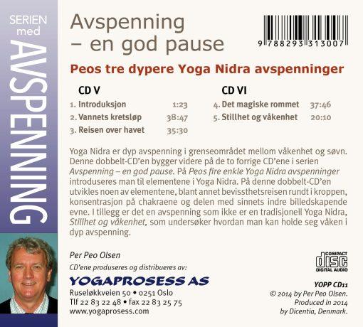 Peos tre dypere Yoga Nidraer