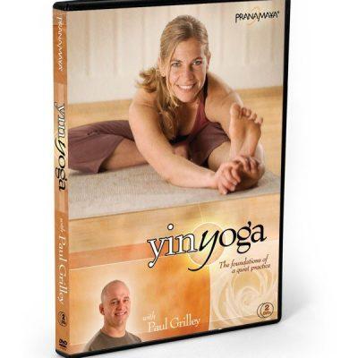 Yin Yoga DVD - med Paul Grilley - forside